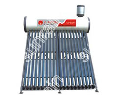 Two pipe Inlet-outlet Solar Water Heater