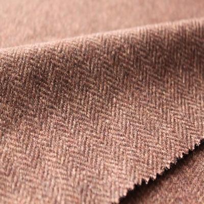 Herringbone Wool Garment Fabric