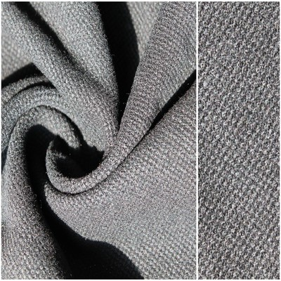 Tweed Jacquard Wool Fabric