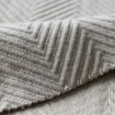 Big Herringbone Fancy Wool Garment Fabric