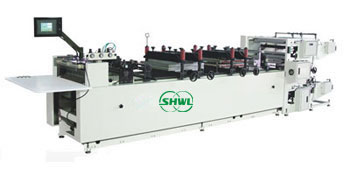 High-speed Paper/Plastic Bag Making Machine