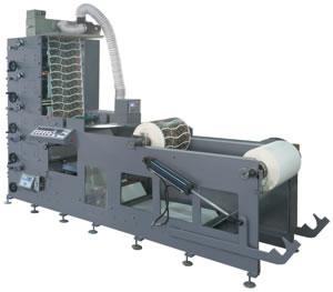 Compact Flexo Printing Machine