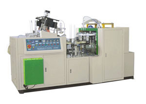 Double PE Coated Ultrasonic Paper Bowl Forming Machine