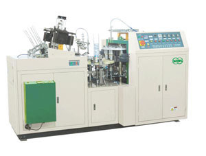 Double PE Coated Ultrasonic Paper Cup Forming Machine