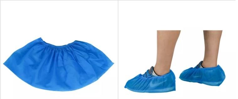 Wholesale Disposable Blue Rain Plastic Cover boot cover Tx336