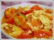Tomatoes scrambled egg
