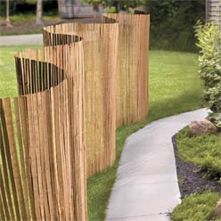 Slatted Bamboo Privacy Screen Manufacturers Slatted Bamboo