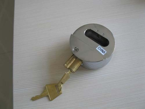 73mm steel padlock with hasp
